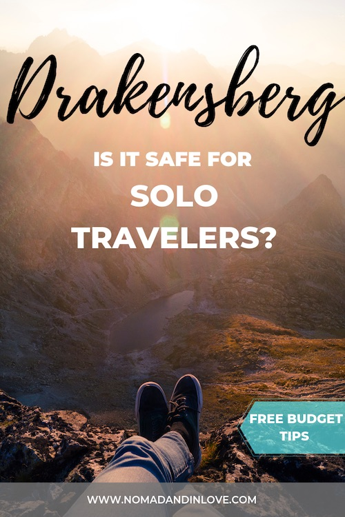 solo traveler hiking in south africa
