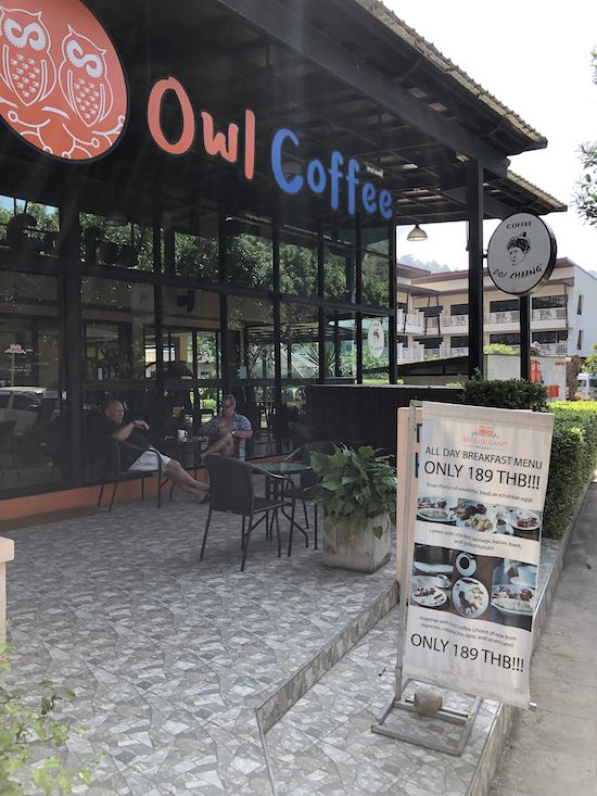 best coffee in aonang krabi thailand