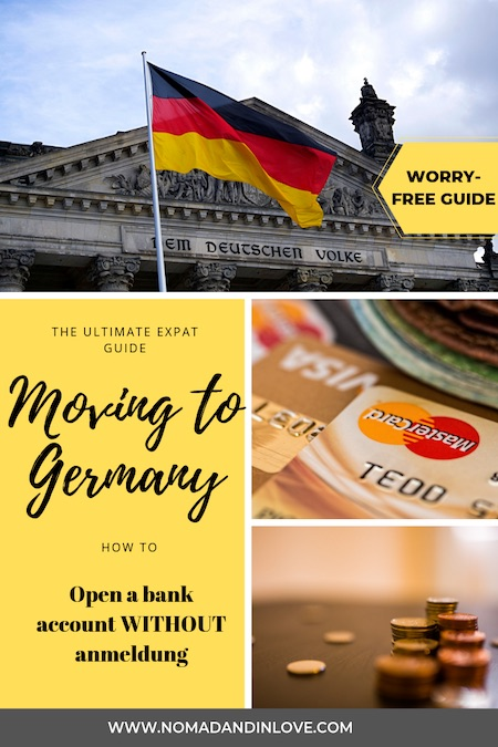 bank account for moving to germany