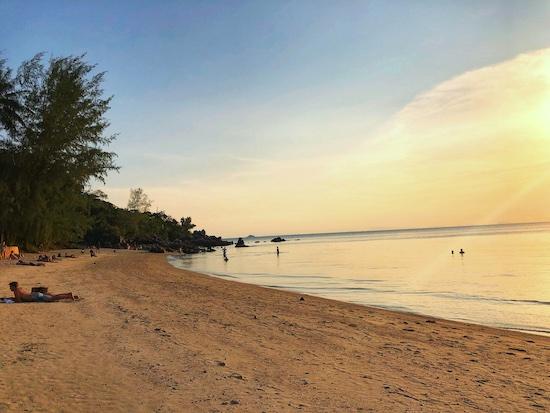 best sunset in thailand