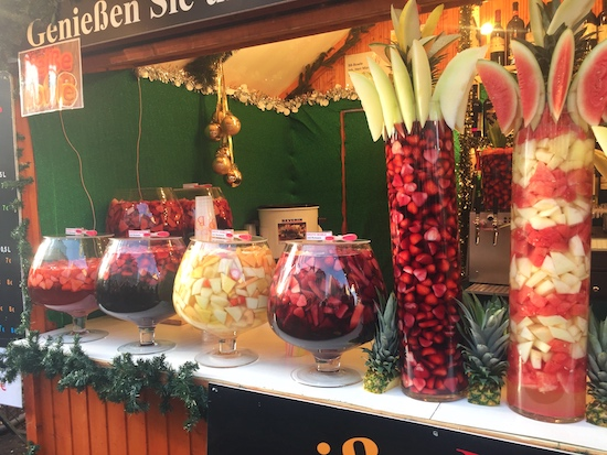 typical drinks at german christmas markets