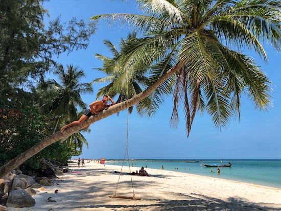 best beach for swimming in koh phangan