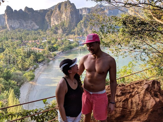best views over railay beach thailand