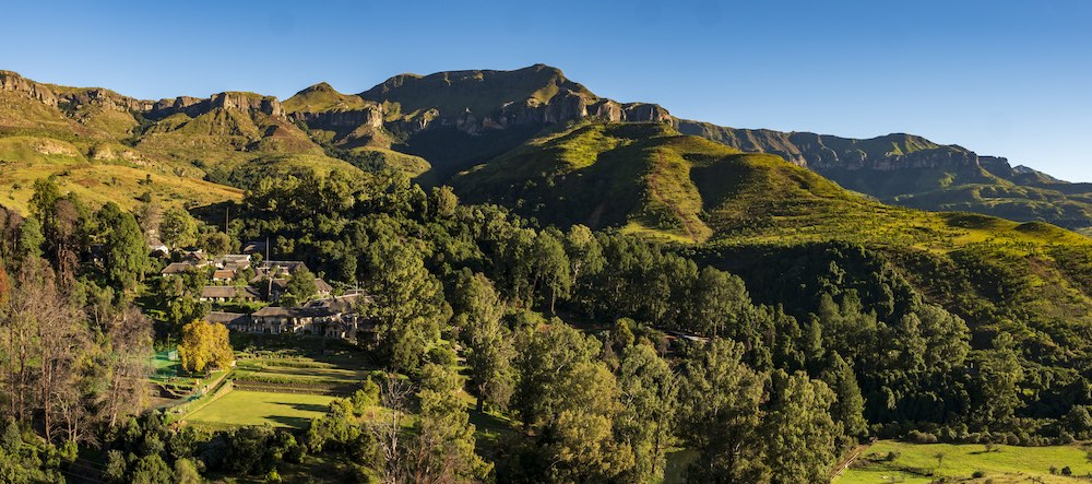 family-friendly accommodation in royal natal national park