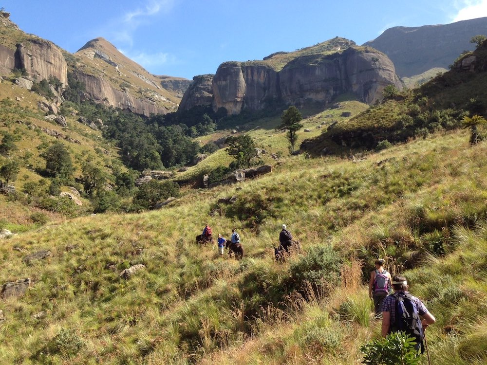 guided hikes in royal natal national park
