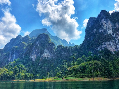 khao sok national park is a non touristy place to visit in thailand