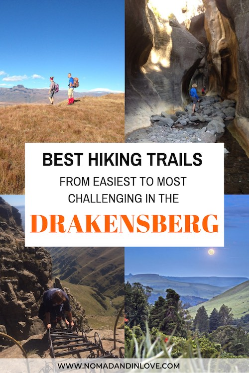 easy hiking trails in the drakensberg south africa