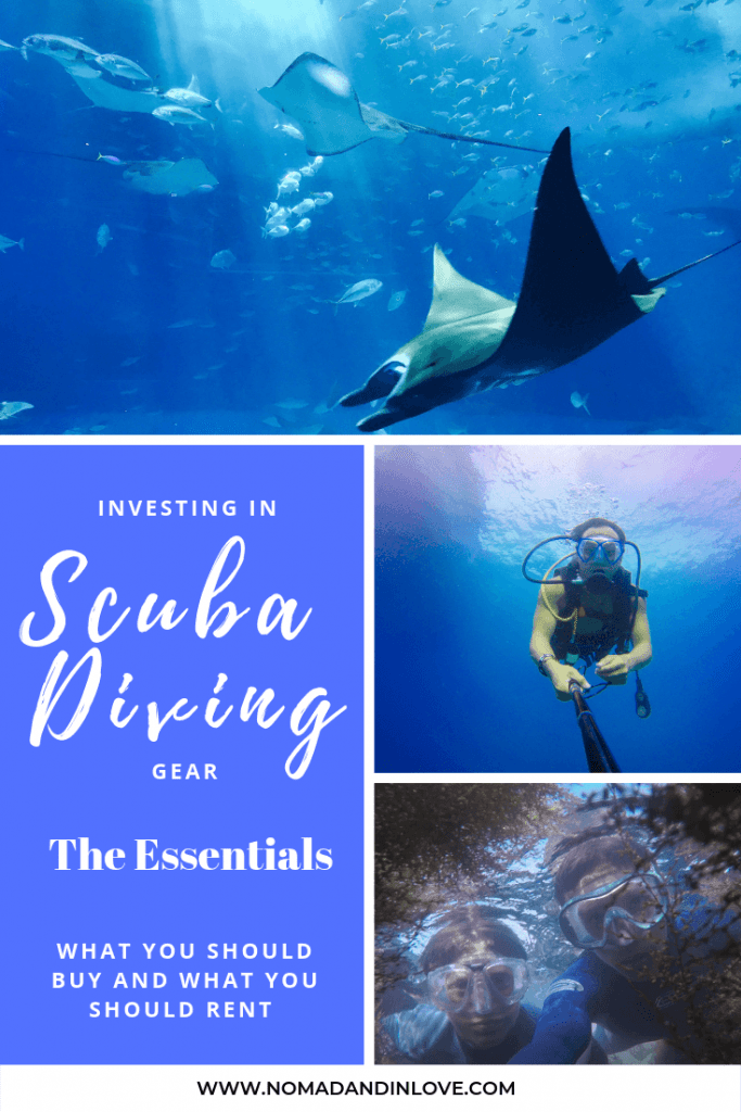 pinterest save image for learn to scuba dive guide