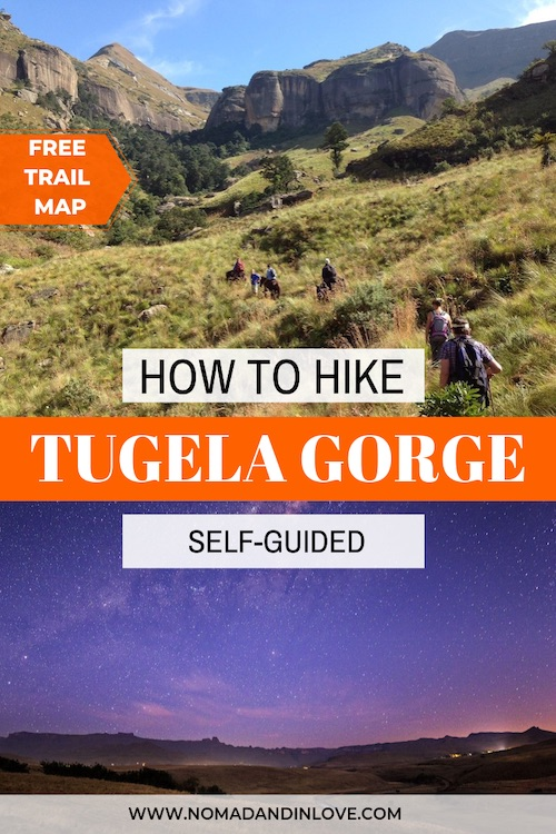 self guided hikes in drakensberg