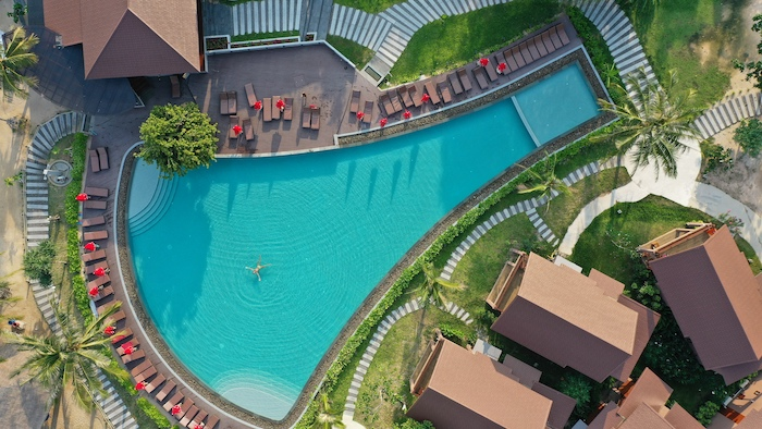 family friendly beach resort in koh phangan