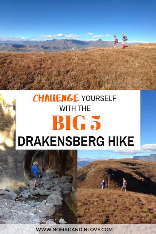 challenging drakensberg hiking