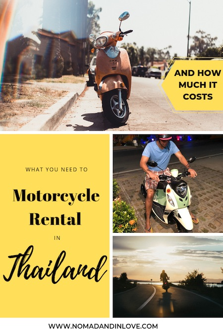 rent scooter in thailand safety tips