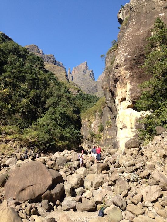 best trekking in south africa