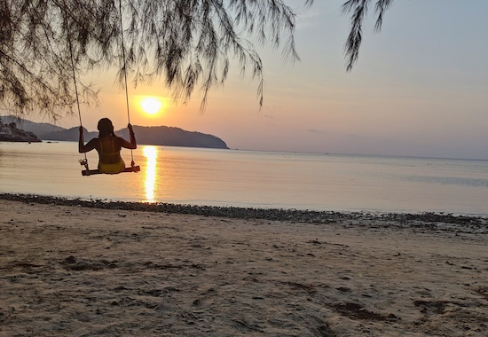 best sunsets in koh pha-ngan