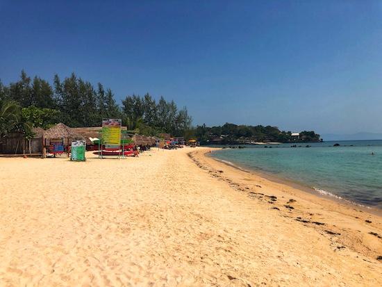 beaches in koh pha-ngan