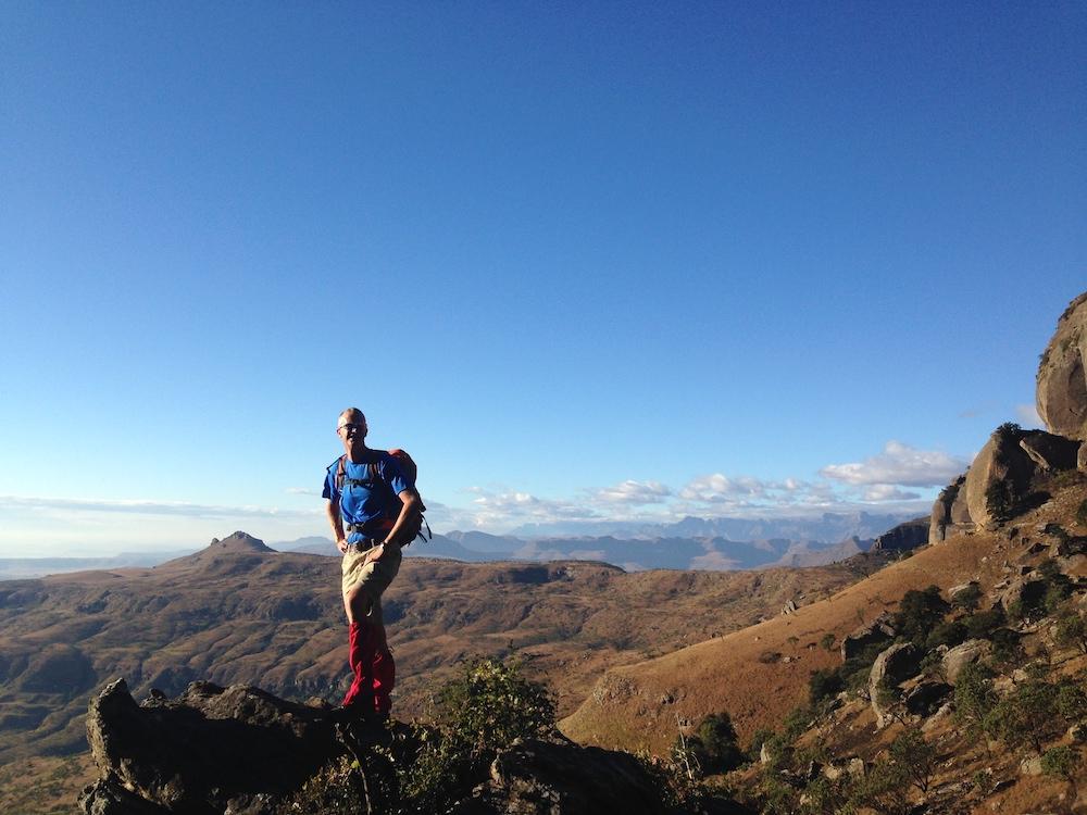 best drakensberg hiking trails in royal natal national park