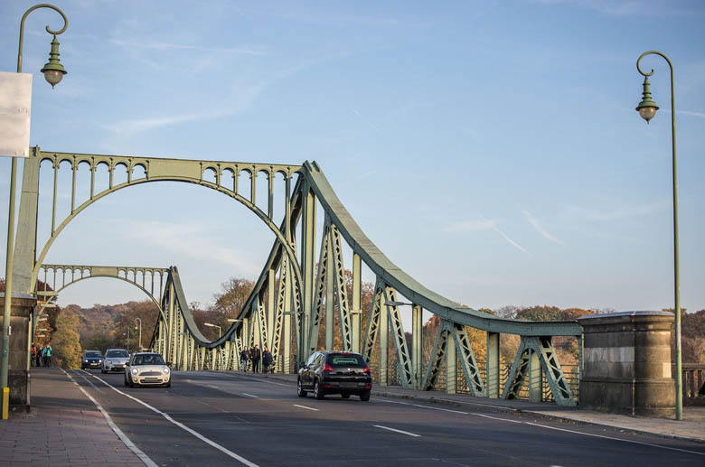 the famous glienicke bridge, also known as the bridge of spies, is one of the top things to do in potsdam