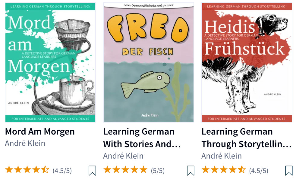 easy books to read in german language by andre klein