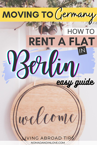 pinterest save image for how to rent a flat in berlin germany easy guide