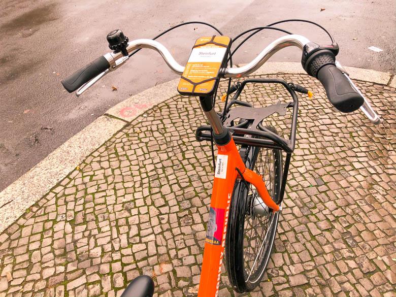 donkey republic bike named steinfurt