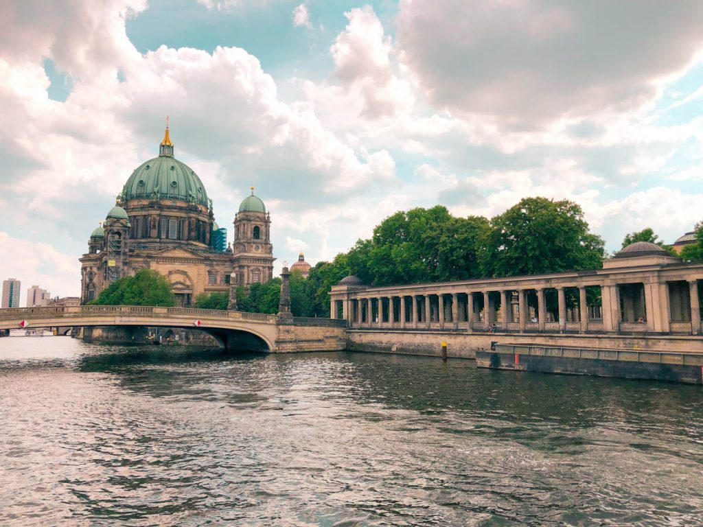 museum island and the famous berliner dom in the city center of berlin germany