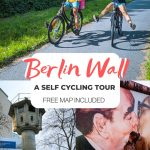 pinterest save for berlin wall self guided cycling tour