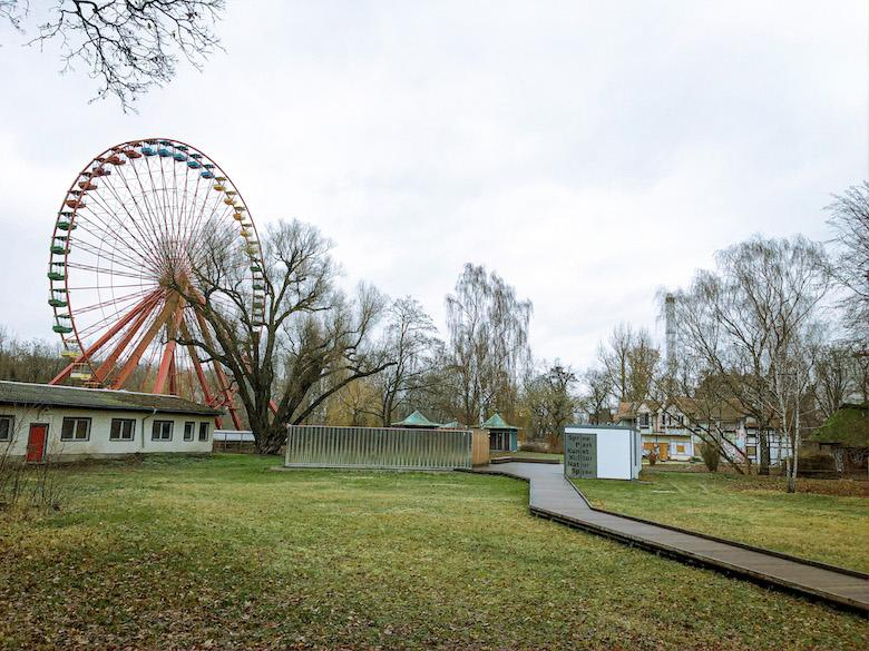 abandoned amusement park in east germany called spreepark