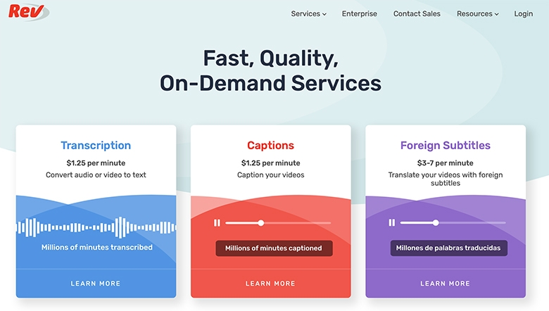 rev.com review for online transcription jobs, video captioning and translate foreign subtitles