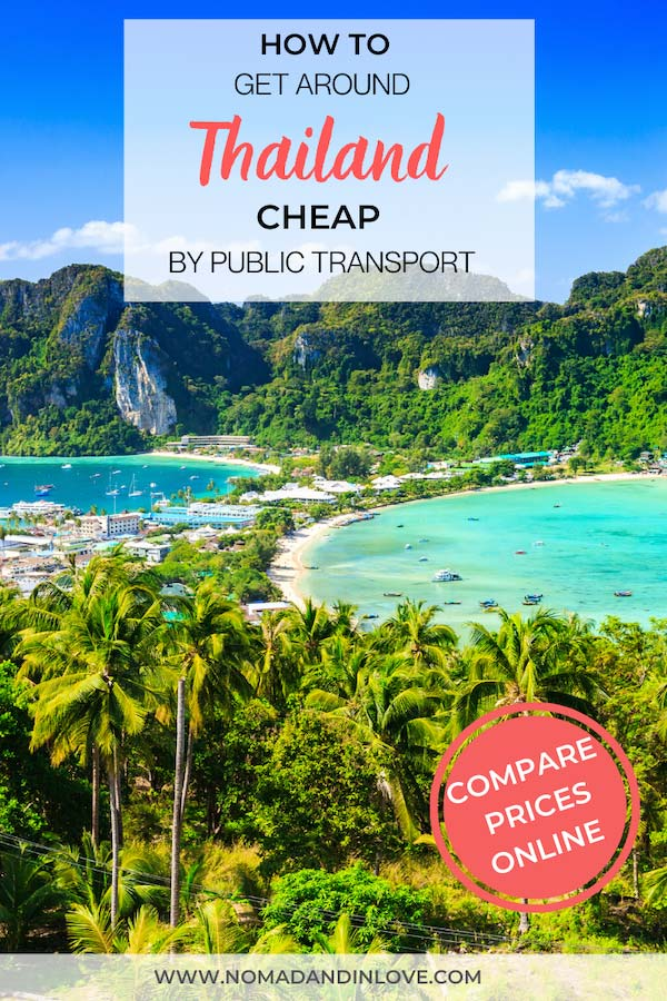 pinterest save image for thailand transportation travel guide for travelling around thailand