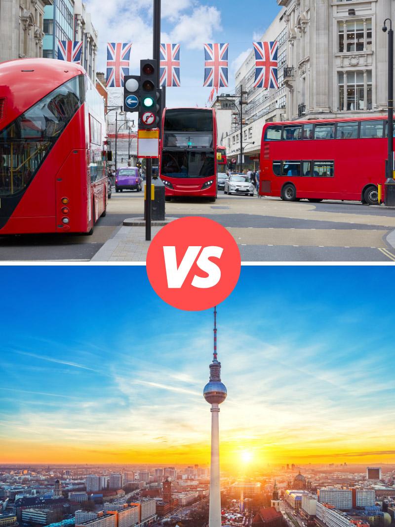 Cost of Living in London vs Berlin