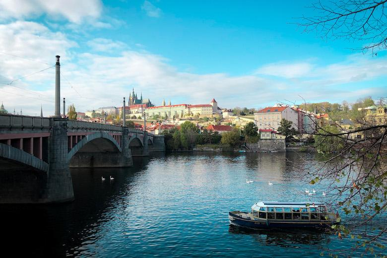 taking a river cruise down the vltava river is a top prague things to do