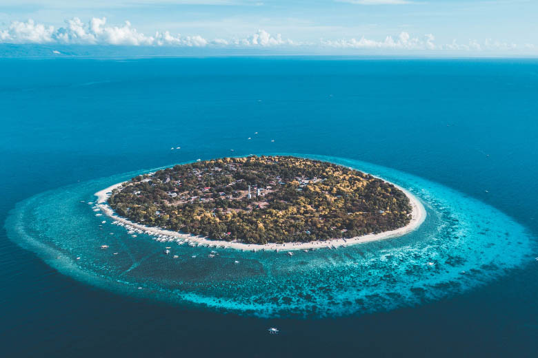 tumbatu island on the west coast of zanzibar with the coral reef surround the island is a great place for snorkeling