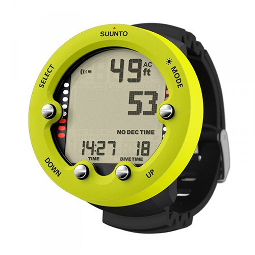 essential scuba diving gear for beginners Suunto Zoop Novo scuba dive computer watch