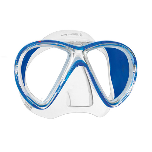 essential scuba diving gear for beginners Mares X-VU Liquidskin 2 scuba diving mask