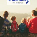 pinnable image for family friendly hiking in drakensberg with children guide