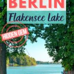 pinterest save image to a berlin travel guide for flakensee lake
