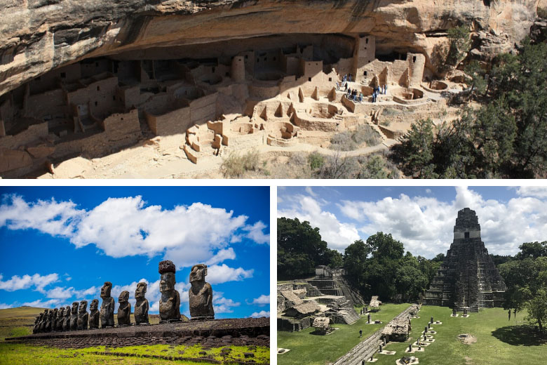 world heritage sites in the US and south america
