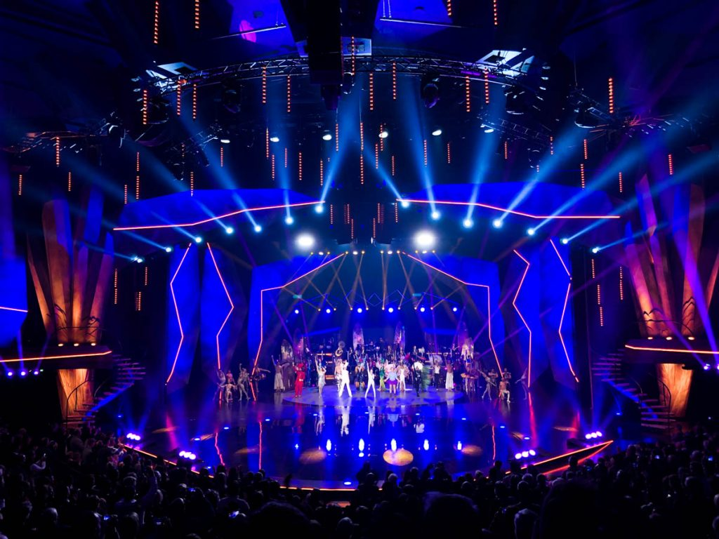 expats living in berlin watch the vivid grand show at friedrichstadt palast theatre