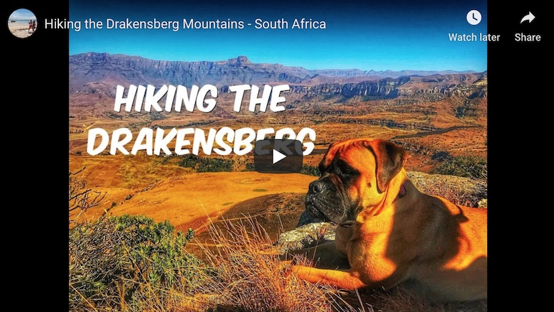 youtube link to best hikes in the drakensberg video