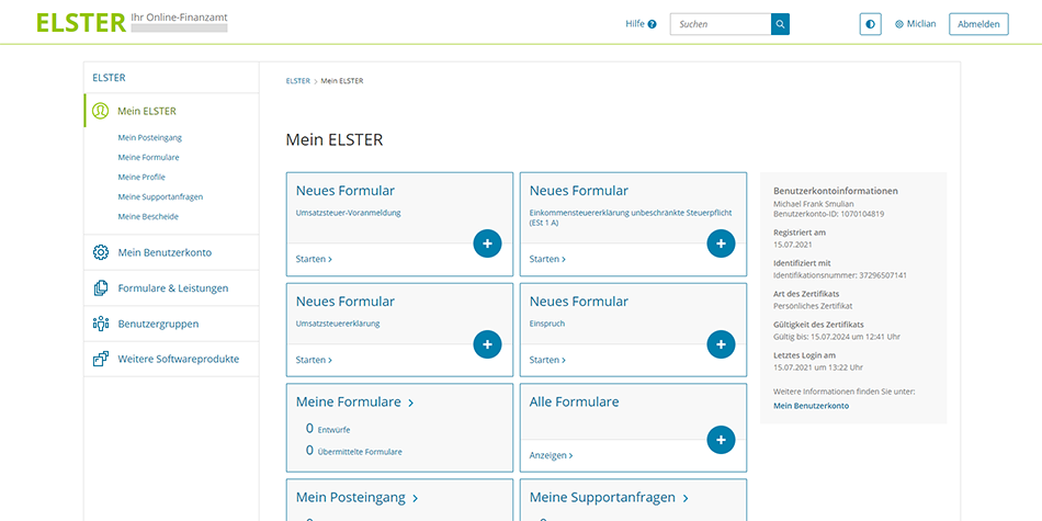 you can now easily file your German tax return online and for free