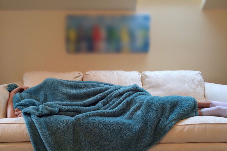 a great tip for working remotely rest when you're sick