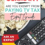 pinterest save image for moving to germany expat guide and how to pay for tv tax in Germany