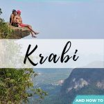 pinnable image for krabi top things to do and itinerary