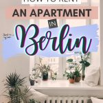pinterest save image for how to move to germany and find an apartment