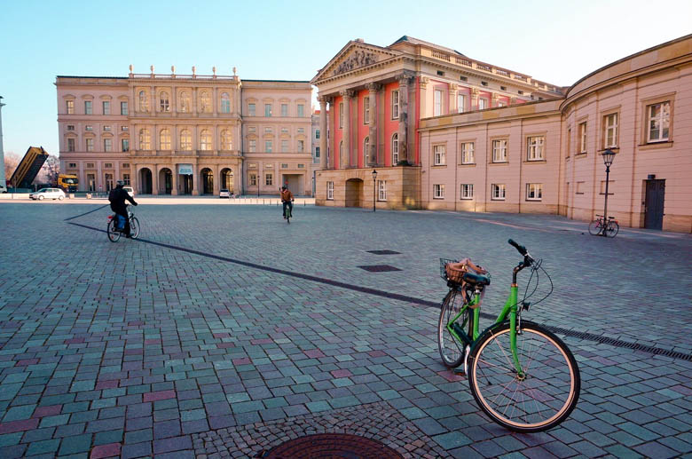 beautiful old town square of potsdam or alter markt is a top thing to do in potsdam germany