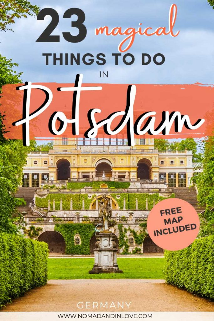 pinterest save image for 23 best things to do in potsdam germany