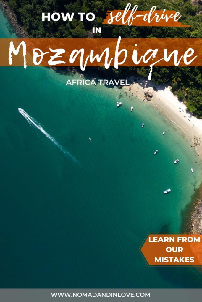 pinnable image for guide on self driving to mozambique