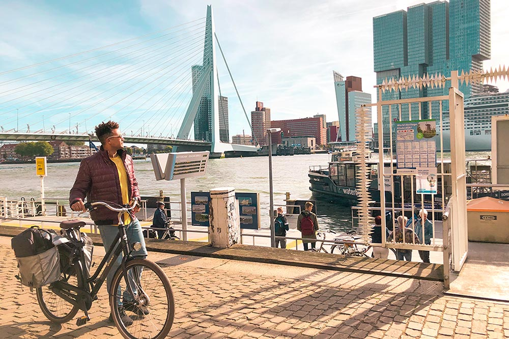 Rotterdam Things to Do: Sightsee 22 Rotterdam Attractions by Bike