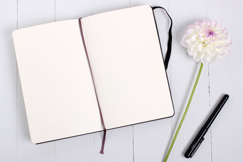 a notebook to create a to-do list for daily and weekly tasks