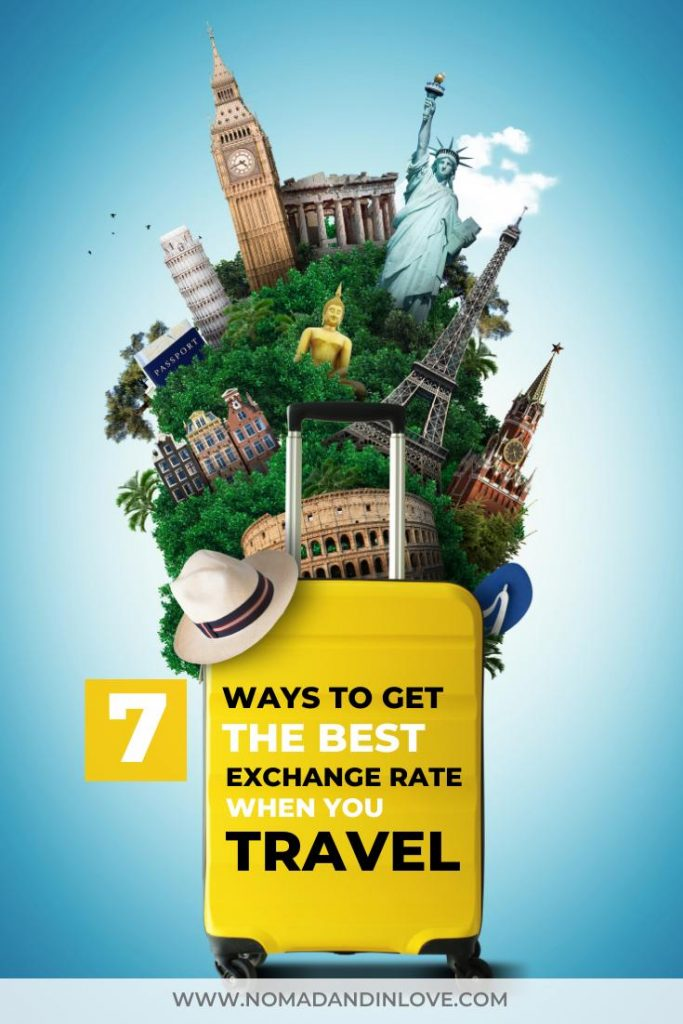 pinnable image to save best travel card for best foreign exchange rates